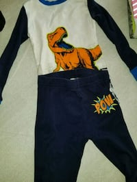 3 pairs of pajamas size 4T College Park