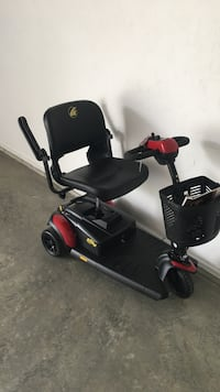 Black and red mobility scooter Irwin, 15642