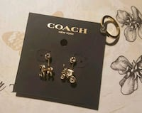 Authentic Coach earrings and ring set Panama City, 32401