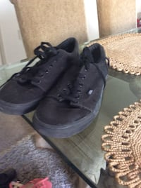 pair of black low-top sneakers Irvine, 92620