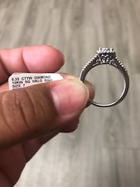 Engagement ring size 7 (or best offer)  Gaithersburg