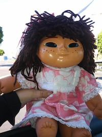 female doll with dress