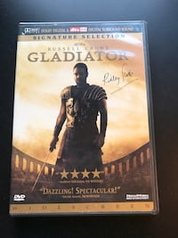 """Gladiator"" - DVD Movie, Signature Selection Edition Leesburg, 20175"