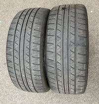 215/50r17 TIRES (only 2) Wallingford, 06492