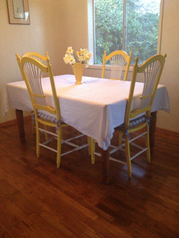 Eugene Oregon Dining Table And 6 Chairs 1 2