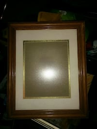 brown wooden photo frame