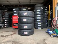 We sell a full set Of four Used tires 285/70R17 TOYO  OPEN COUNTRY AT  Beaumont, 92223