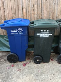 32 Gallon Garbage Cans - Official DC DPW