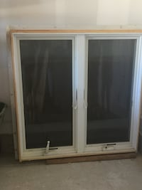 White wooden framed glass window Commack, 11725
