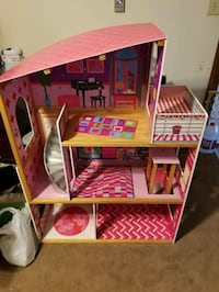 3 level Barbie  doll house with elevator, works. [TL_HIDDEN]  Smithsburg, 21783