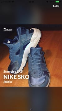 Nike sko / hurraces Oslo, 0968