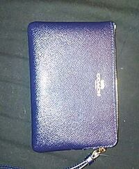 blue Coach leather coin purse Akron, 44312