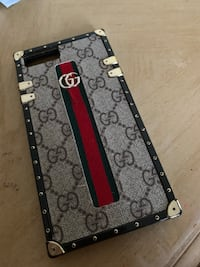 Gucci Black and brown leather wallet Donna, 78599