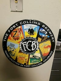 Fort Collins Brewing Sign Fort Collins, 80526
