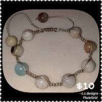 silver-colored assorted beaded jewelry Hampton