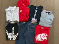 Lot of 8, size 9-12 (M) boys clothes Barrie, L4N 0J3