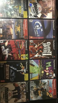 Ps2 games $22.00 Lot 9 Aliquippa, 15001