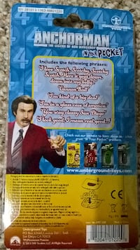 Anchorman In Your Pocket Talking Keychain Abbotsford