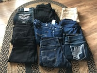 four pairs of denim bottoms Bunker Hill, 25413