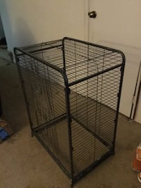 black metal folding dog crate Woodbridge, 22193