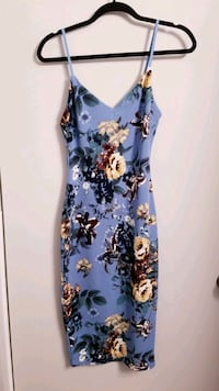 Floral Bodycon Dress  Toronto, M6A 2W4