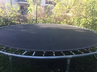 Black and gray trampoline with enclosure Schenectady
