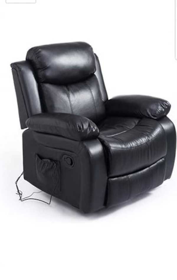 HOMCOM Deluxe Electronic Heated Massage Sofa Recliner Chair