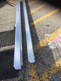 2-FLAT ROOF METAL PARTS-BEST OFFER