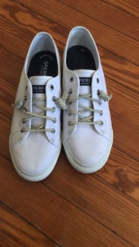 Sperry Top-Sider Platform sneakers- White- size 8.5 Washington, 20002