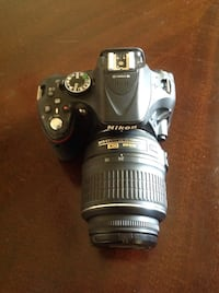 Camera Nikon D5200 With Lens  And Manual Lens VR