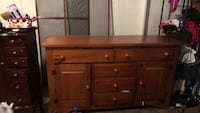 Buffet cabinet with lighted hutch Ellicott City, 21043