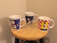 Lot Of Three Holiday Mugs Las Vegas, 89129