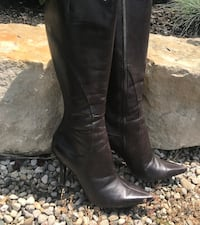 Tall, Nine West brown boots Zorra, N5C 3J5