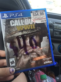 Sony PS4 Call of Duty Advanced Warfare game case Bakersfield, 93308