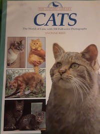 Cats the world of cats with 200 full color photos Catonsville, 21228