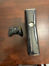 Black xbox 360 console with controller price reduced Laurel, 20707