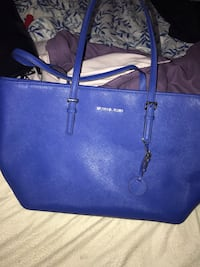blue Michael Kors leather tote bag Toronto, M1E 2R3