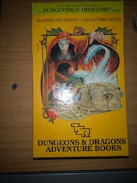 Box set Dungeons & Dragons Adventure Books Endless Quest