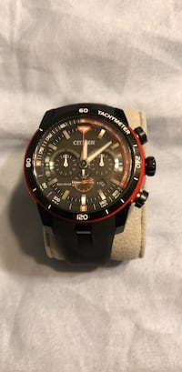 round black and gold-colored chronograph watch Towson, 21286