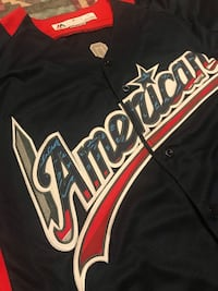 2018 MLB American League Mike Trout All*Star Jersey Sz L 1958 mi