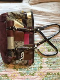 Patchwork COACH Bag and Wallet Reston, 20190