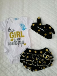 Cute 3 PCS oufit baby girl  Kenner, 70065