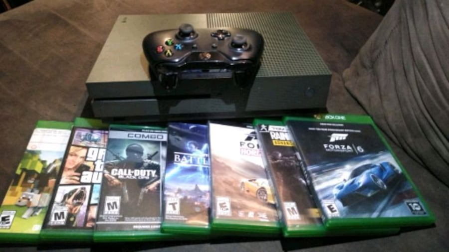 Xbox One S 1Tb with 6 games 2efedbc3-8cc8-4d36-acaf-33554b339a4e