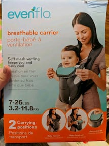 Baby's Baby Trend carrier box