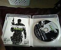 Call of Duty MW3 PS3 game disc Marshall, 53559