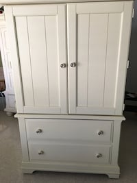 Off-white wooden Armoire Fort Lauderdale, 33308