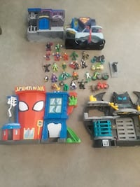 assorted plastic toys with boxes Corpus Christi, 78413