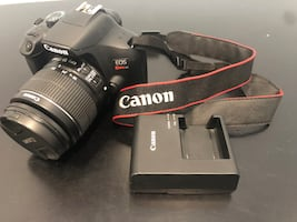 Canon t6 $300 today only  no holds trade/ gopro 8