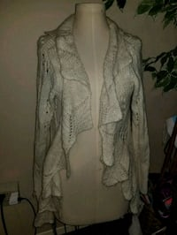 gray button-up cardigan Quinte West, K8V 6B3