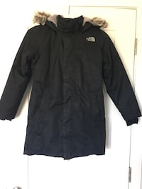 Girls Northface down parka size 10/12 for sale  Calgary, T3H 0C2